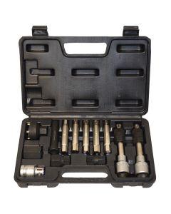 13 Piece Alternator Pulley Service Kit