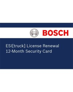 ESI Truck Renewal License