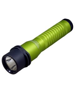 Strion LED Rechargeable Flashlight with AC/DC - Lime Green