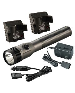 Stinger HL with 120V AC/DC PB, Gray, 800 Lumens