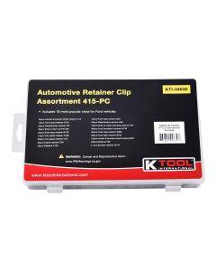 415 Piece Automotive Retainer Clip Assortment
