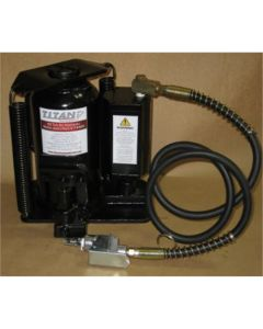 Titan 20 Ton Air/Hydraulic Bottle Jack