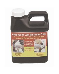 Combustion Leak Indicating Fluid for Diesel Engines
