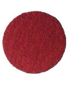 "3"" Red Ceramic Disc - 80 Grit, Abrasive, (25/Box)"
