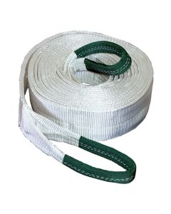 """4"""" x 30' Tow Strap with Looped Ends at 40,000 lb. Capacity"""