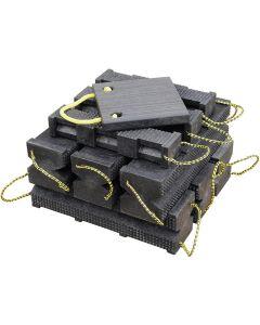 FR Industrial Cribbing Block Set w/ Jack Plate