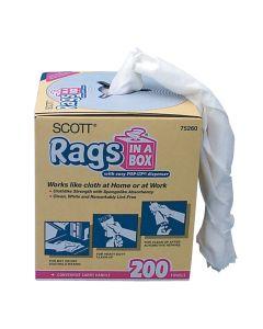 """Scott Rags in a Box, 10"""" x 14"""" (200 ct.)"""