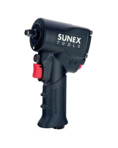 Sunex Tools 3/8 in. Drive Super Duty Min Impact Wrench w/ Grip