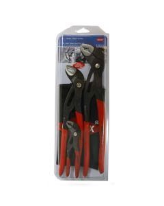 Knipex 3-Piece Cobra Water Pump Plier Set