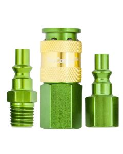 "1/4"" Green Coupler Kit 4pc"