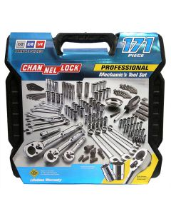 CHANNELLOCK 171-Piece Mechanic's Tool Set