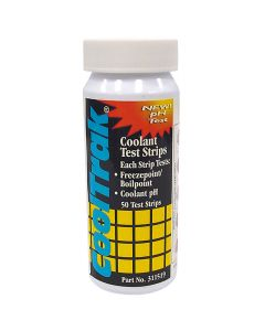 CoolTrak Coolant Test Strip - 50 Per Bottle