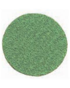 "2"" Green Zirconia Abrasive Disc - 36 Grit (50/Box)"