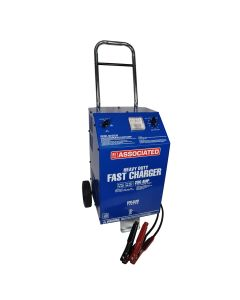 Associated Battery Charger, 6/12V 70/60A, Agm, 250 Amp Cranking Assist
