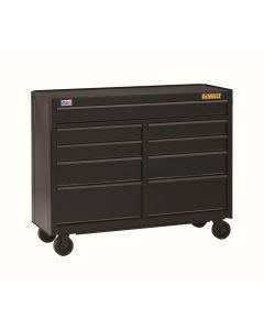 DeWalt 9-Drawer Rolling Cabinet, 52 in., Black