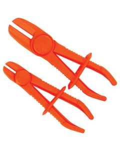2-pc Flexible Line Clamp Set (Large and Small Clamps)