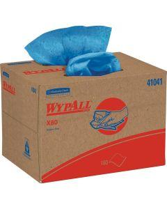 Kimberly Clark WYPALL X80 Blue Wiper Towels (160 Sheets)