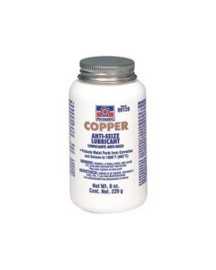 Copper Anti-Seize Lubricant, 8 ounce Brush Top Bottle