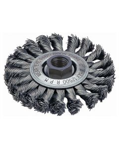 "Stringer Bead Wire Wheel Brush, 4"" Diameter"
