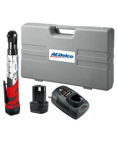 ACDelco Lith-Ion 12V 3/8 in. Drive Ratchet Wrench Kit