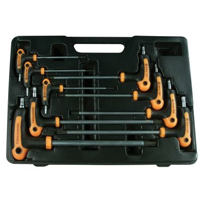 9-Piece T-4 Handle Tamper Star and Key Wrench Set
