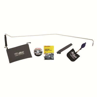 One Hand Jack Car Opening Set with Lightening Rod Tool