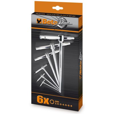Beta Action T-Handle Wrench 6-Piece Set