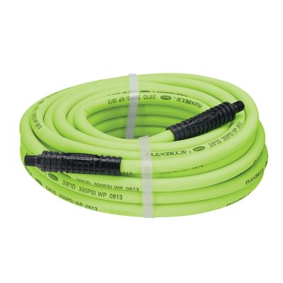 Flexzilla ZillaGreen 3/8 in. x 50 ft. Air Hose with 1/4 in. Threads
