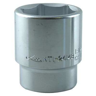 1-1/2 in. x 3/4 in. Drive 6-Point Fractional SAE Chrome Standard Socket, Each